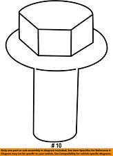 FORD OEM Exhaust Manifold-Heat Shield Bolt W703715S437