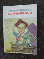 Whiteley, Richard, Richard Whiteley's Yorkshire Quiz, Very Good, Paperback