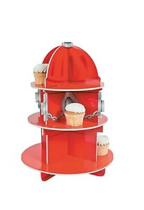 Fire Hydrant Cupcake Stand - Party Supplies - 2 Piece
