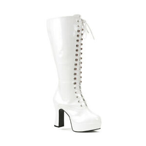 "FUNTASMA Exotica-2020X 4"" Heel Closed Toe Calf-High Boot"