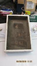 Antique Hand Made Wooden Electrical Box Great For Your Cabin Or Man Cave