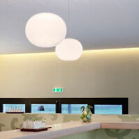 Modern Milk White Glass Chandelier Flos Style Global Pendant Lamp Lighting