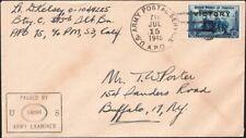 PHILIPPINES, 1945. Cover 491, APO 711, Buffalo, NY