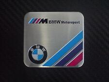 BMW Motorsport Plakette Alu  Emblem Aufkleber  M3 M5 M6 E30 E36 E46 E90  E92 F30