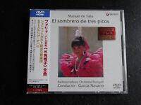 DVD Di Falla/Orchestra Stoccarda/Navarro - El Sombrero Di Molto Picos / Nuova