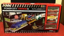 Power City Train Auto Loader Track Tunnel Jakks Pacific Set Battery Operated