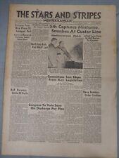 Stars And Stripes  Mediterranean Edition Jan. 22nd. 1944