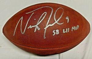 Eagles Nick Foles Signed SB LII MVP Wilson Super Bowl LII Football Auto Fanatics