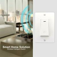 AC 100-240V 2.4GHZ Smart WIFI LED Light Switch Wall Panel APP Remote Control