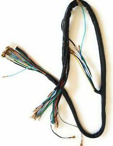 Complete wire harness loom round headlight model Honda cub C50, C70, C90 & more