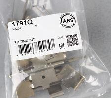 A.B.S. 1791Q Zubehörsatz Scheibenbremsbelag für Mazda W2-B8
