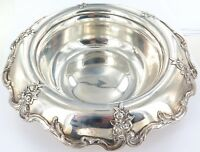 .1902 SUPERB TIFFANY & Co STERLING SILVER FLORAL CENTREPIECE BOWL.