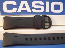 Casio watch band WVA-104 H Black Waveceptor.Original Two-Piece  Strap Resin 16mm