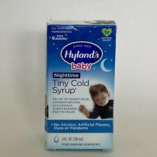 Highland's Baby Nighttime Tiny Cold Syrup Homeopathic Syringe Included