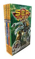 Sea Quest Collection Adam Blade 4 Books Set Series 8 Pack Inc Gort, Gangor