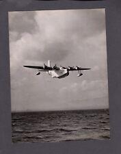 SHORT SUNDERLAND FLYING BOAT LARGE VINTAGE PHOTO RAF