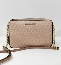 2d36754cd814e Michael Kors tasche handtasche jet Set crossbody signature ballet