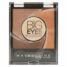 4 X MAYBELLINE BIG EYES LIGHT CATCHING PALETTE EYESHADOW ❤ 01 LUMINOUS BROWN ❤