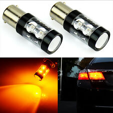JDM ASTAR 50W High Power LED 1157 BAY15D Amber Yellow Car Turn Signal Light Bulb