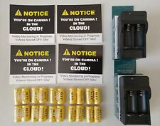 20 Rechargeable Batteries Kit Pack for Netgear Arlo Security Camera