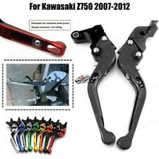 Folding Extendable Adjustable Brakes Clutch Levers For Kawasaki Z750 2007-2012
