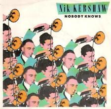 """<3145-0> 7"""" Single: Nik Kershaw - Nobody Knows"""