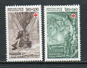 FRANCE MNH 1982 SG2449-2550 RED CROSS FUND