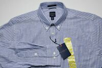 NEW Dockers Battery Street Mens Dress Shirt Size Medium 15-15.5 32/33 Stretch