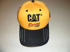 Caterpillar black/yellow CAT Racing hat 31 Ryan Newman