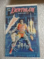 Deathlok #4 (Oct 1990, Marvel)