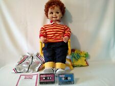 Vintage 1986 Talking Corky Doll, Original Chair, Space Suit, 2 Tapes Nice