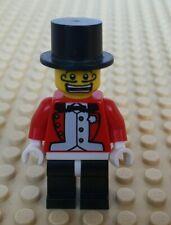 LEGO Minifigures Series 2 8684 Ringmaster Top hat circus guy Lion tamer Whip