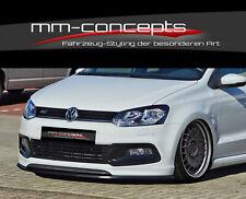 Cup spoiler lip for VW Polo V 5 6C R Line Front Spoiler Spoiler SWORD Lip in