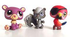 Littlest Pet Shop LPS Figures - Mixed Animals Set - Set 2