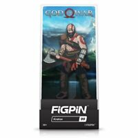 God of War Kratos FiGPiN enamel pinback