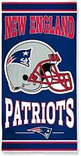 New England Patriots Beach Towel [NEW] NFL Blanket Vacation Summer Pool CDG