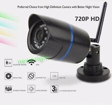 Wireless WIFI HD 720P CCTV IP Camera Security Outdoor Waterproof Night Vision