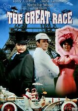 NEW DVD - THE GREAT RACE - Tony Curtis, Jack Lemmon, Natalie Wood, Peter Falk,