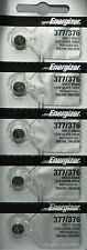 Energizer 377 376 (SR626SW) Silver Oxide Watch Batteries ( 1 pack of 5)