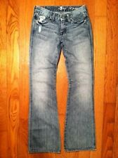 """Women's 7 for All Mankind """"A"""" Pocket Boot Cut Jean's Light Wash size 24 x 31"""