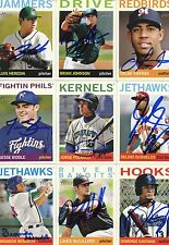 Luis Heredia signed 2013 Topps Heritage Minors Rookie card auto