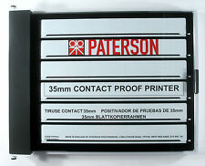 Paterson Contact Proof Printer 35mm 10 x 8 Proof Printer PTP619