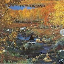 FINLANDIA FINLAND 2003 CARTERA EUROSET CON MEDALLA - BU