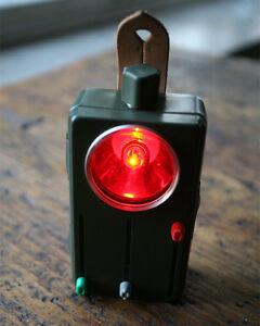 Bundeswehr Bw Taschenlampe Signallampe Lampe Handlampe Farbfilter