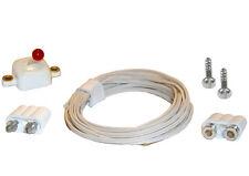 Stecker Kupplungen Kabel Schalter-Set für 3,5V Puppenhausbeleuchtung Kahlert