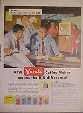 1958 Vendo Coffee Maker Vending Machine~Coca-Cola~Coke~Ice Cream~Milk Promo AD