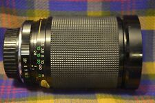 Vintage MAGNICON 1:4 MACRO Lens 28-200mm-Minolta Camera Co-Japan-Case/Book