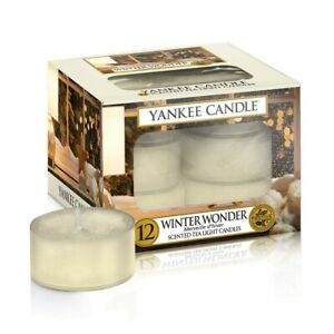 Yankee Candle -  Set of 12 Tea Lights - Winter Wonder - Scent - New  and boxed.