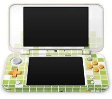 Nintendo NEW 2DS XL Aufkleber Skin Schutzfolie Sticker Klebe Folie Mosaik Green