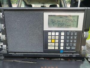 Grundig Satellit 500 World Receiver   Used Vintage Transistor Radio working